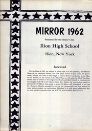 Page 4, 1962 Edition, Ilion High School - Mirror Yearbook (Ilion, NY) online yearbook collection