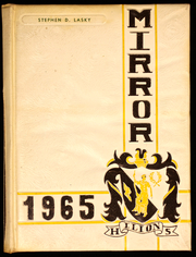 1965 Edition, Ilion High School - Mirror Yearbook (Ilion, NY)
