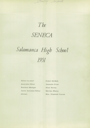 Page 5, 1951 Edition, Salamanca High School - Seneca Yearbook (Salamanca, NY) online yearbook collection