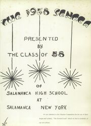 Page 5, 1958 Edition, Salamanca High School - Seneca Yearbook (Salamanca, NY) online yearbook collection