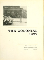 Page 7, 1937 Edition, Hempstead Senior High School - Colonial Yearbook (Hempstead, NY) online yearbook collection