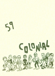 1959 Edition, Hempstead Senior High School - Colonial Yearbook (Hempstead, NY)