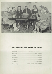 Page 14, 1945 Edition, Port Jervis High School - Victor Yearbook (Port Jervis, NY) online yearbook collection