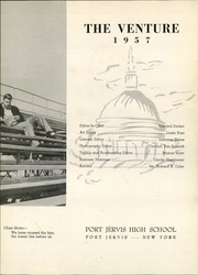Page 7, 1957 Edition, Port Jervis High School - Victor Yearbook (Port Jervis, NY) online yearbook collection
