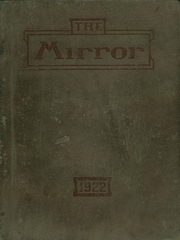 Page 1, 1922 Edition, Medina High School - Mirror Yearbook (Medina, NY) online yearbook collection