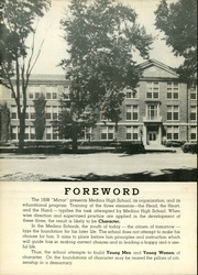 Page 6, 1938 Edition, Medina High School - Mirror Yearbook (Medina, NY) online yearbook collection