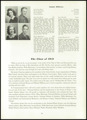 Page 17, 1941 Edition, Medina High School - Mirror Yearbook (Medina, NY) online yearbook collection