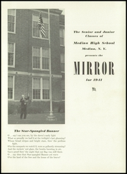 Page 5, 1941 Edition, Medina High School - Mirror Yearbook (Medina, NY) online yearbook collection