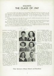 Page 10, 1947 Edition, Medina High School - Mirror Yearbook (Medina, NY) online yearbook collection