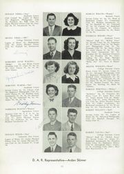 Page 16, 1947 Edition, Medina High School - Mirror Yearbook (Medina, NY) online yearbook collection