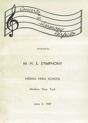 Page 5, 1947 Edition, Medina High School - Mirror Yearbook (Medina, NY) online yearbook collection