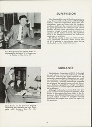 Page 10, 1949 Edition, Medina High School - Mirror Yearbook (Medina, NY) online yearbook collection