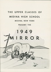 Page 5, 1949 Edition, Medina High School - Mirror Yearbook (Medina, NY) online yearbook collection