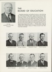 Page 8, 1949 Edition, Medina High School - Mirror Yearbook (Medina, NY) online yearbook collection
