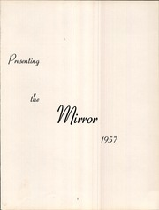 Page 5, 1957 Edition, Medina High School - Mirror Yearbook (Medina, NY) online yearbook collection