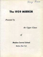 Page 5, 1959 Edition, Medina High School - Mirror Yearbook (Medina, NY) online yearbook collection