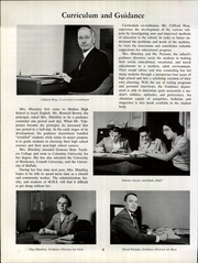 Page 12, 1961 Edition, Medina High School - Mirror Yearbook (Medina, NY) online yearbook collection