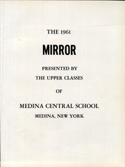 Page 5, 1961 Edition, Medina High School - Mirror Yearbook (Medina, NY) online yearbook collection
