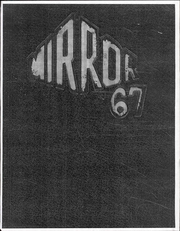 1967 Edition, Medina High School - Mirror Yearbook (Medina, NY)