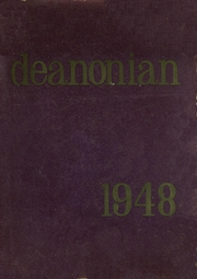 1948 Edition, Gouverneur High School - Deanonian Yearbook (Gouverneur, NY)