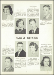 Page 15, 1949 Edition, Gouverneur High School - Deanonian Yearbook (Gouverneur, NY) online yearbook collection