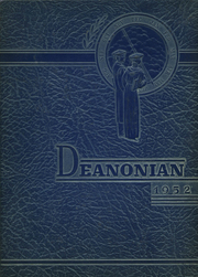 1952 Edition, Gouverneur High School - Deanonian Yearbook (Gouverneur, NY)