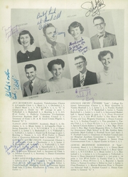 Page 10, 1952 Edition, Gouverneur High School - Deanonian Yearbook (Gouverneur, NY) online yearbook collection