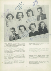 Page 14, 1952 Edition, Gouverneur High School - Deanonian Yearbook (Gouverneur, NY) online yearbook collection