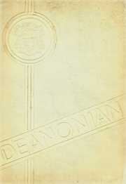 1956 Edition, Gouverneur High School - Deanonian Yearbook (Gouverneur, NY)