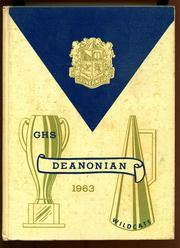1963 Edition, Gouverneur High School - Deanonian Yearbook (Gouverneur, NY)
