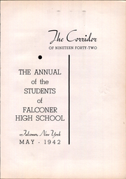 Page 7, 1942 Edition, Falconer High School - Falconaire Yearbook (Falconer, NY) online yearbook collection