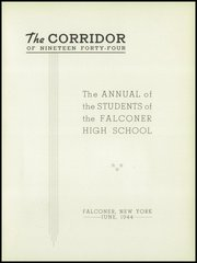 Page 5, 1944 Edition, Falconer High School - Falconaire Yearbook (Falconer, NY) online yearbook collection