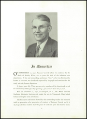 Page 7, 1951 Edition, Falconer High School - Falconaire Yearbook (Falconer, NY) online yearbook collection