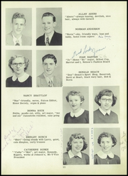 Page 15, 1952 Edition, Falconer High School - Falconaire Yearbook (Falconer, NY) online yearbook collection