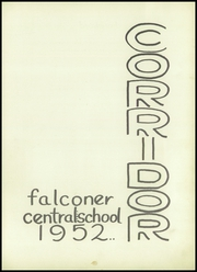 Page 5, 1952 Edition, Falconer High School - Falconaire Yearbook (Falconer, NY) online yearbook collection