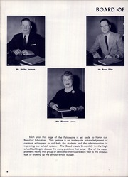 Page 12, 1961 Edition, Falconer High School - Falconaire Yearbook (Falconer, NY) online yearbook collection