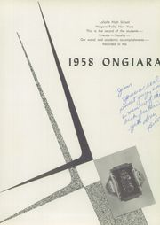 Page 5, 1958 Edition, LaSalle High School - Ongiara Yearbook (Nigara Falls, NY) online yearbook collection
