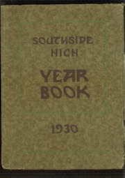 1930 Edition, Southside High School - Edsonian Yearbook (Elmira, NY)