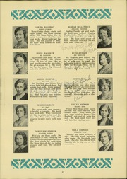 Page 13, 1931 Edition, Southside High School - Edsonian Yearbook (Elmira, NY) online yearbook collection