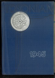1945 Edition, Southside High School - Edsonian Yearbook (Elmira, NY)