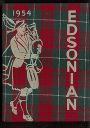 1954 Edition, Southside High School - Edsonian Yearbook (Elmira, NY)