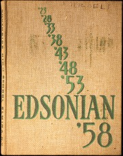 1958 Edition, Southside High School - Edsonian Yearbook (Elmira, NY)