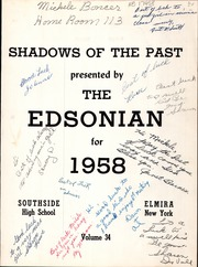 Page 13, 1958 Edition, Southside High School - Edsonian Yearbook (Elmira, NY) online yearbook collection