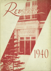 Page 1, 1940 Edition, Webster Central High School - Reveille Yearbook (Webster, NY) online yearbook collection