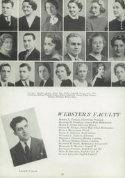 Page 16, 1940 Edition, Webster Central High School - Reveille Yearbook (Webster, NY) online yearbook collection
