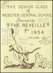 Page 5, 1954 Edition, Webster Central High School - Reveille Yearbook (Webster, NY) online yearbook collection