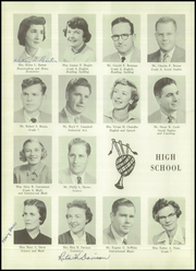 Page 14, 1955 Edition, Webster Central High School - Reveille Yearbook (Webster, NY) online yearbook collection