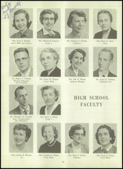 Page 16, 1955 Edition, Webster Central High School - Reveille Yearbook (Webster, NY) online yearbook collection