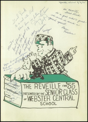 Page 5, 1955 Edition, Webster Central High School - Reveille Yearbook (Webster, NY) online yearbook collection