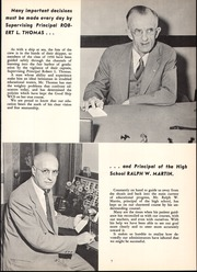 Page 11, 1956 Edition, Webster Central High School - Reveille Yearbook (Webster, NY) online yearbook collection